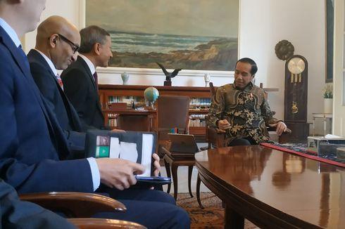 Jokowi dan Menlu Singapura Bahas Kerja Sama Infrastruktur, Investasi, dan SDM