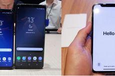 Membandingkan Spesifikasi Samsung Galaxy S9 dan iPhone X