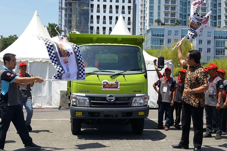 Hino Dutro Safety Driving Competition Surabaya
