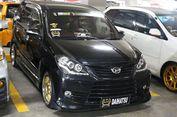 Ratusan Mobil 'Modif' Daihatsu Kumpul di Medan