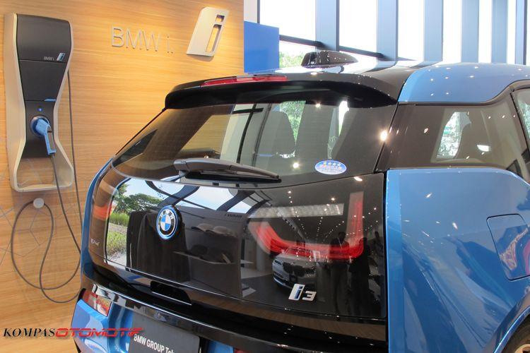 Mobil listrik city car BMW i3
