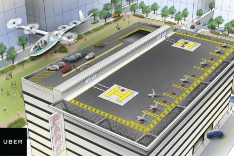 Kebisingan Rendah, Uber Segera Uji Coba Baling-baling Pesawat Ini
