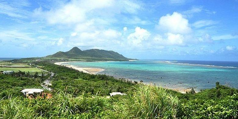 Pulau Ishigaki di Jepang.