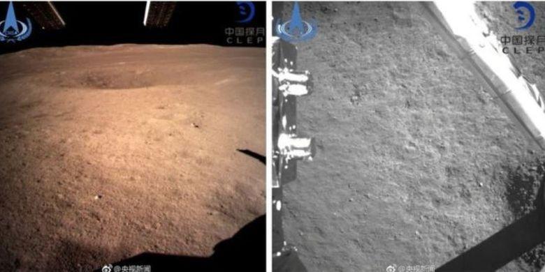 Gambar-gambar pertama dalam sejarah, yang diambil dari sisi jauh Bulan.
