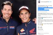 Penghormatan Pebalap MotoGP kepada Nicky Hayden
