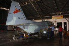 Pensiun Terbang, Pesawat Tempur F-5 TNI AU Jadi Monomen di Alun-Alun Madiun