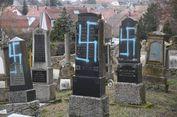 Puluhan Nisan di Makam Yahudi di Perancis Jadi Sasaran Vandalisme