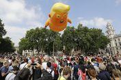 Ba   lon Bayi Raksasa Bikin Trump Merasa Tak Diinginkan di London