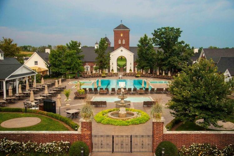 Trump National Golf Club Bedminster di New Jersey, Amerika Serikat.