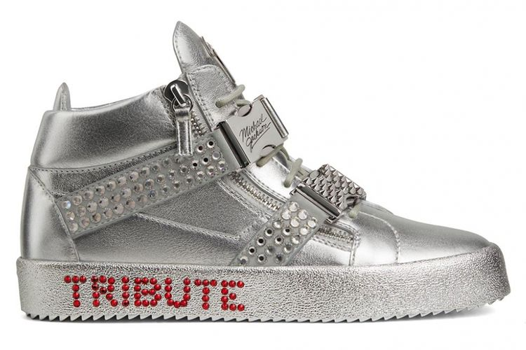 Sneakers tribut untuk Michael Jackson dari Giuseppe Zanotti(Giuseppe Zanotti)