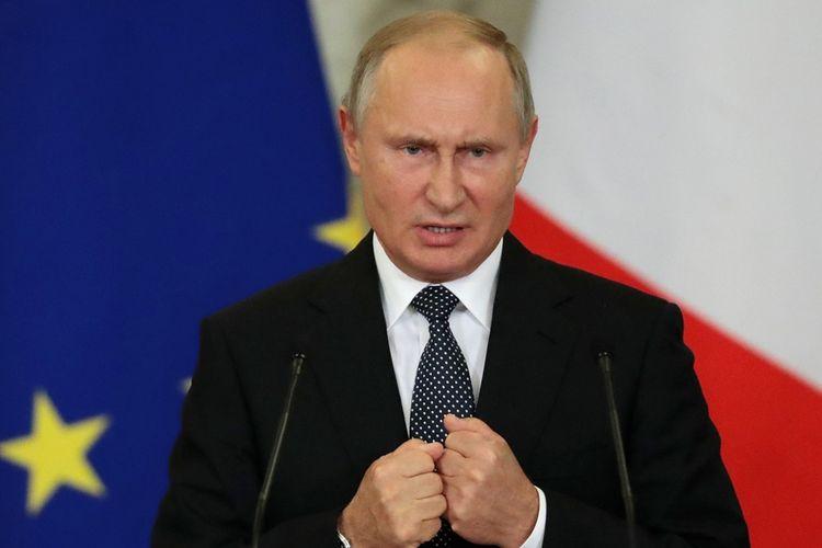 Putin Tuduh Presiden Ukraina Provokasi demi Popularitas Jelang Pemilu