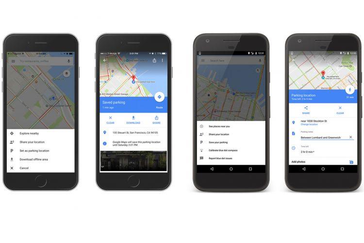 Google Maps kedatangan fitur pengingat tempat parkir