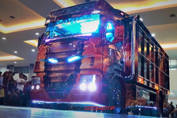 Modifikasi truk bertema Avengers di JTF 2018