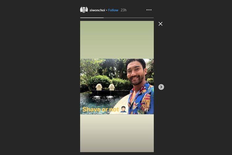 """Siwon Choi berlibur di Bali jelang konser <a href='/artis/super-junior'>Super Junior</a> di ICE BSD, Tangerang, Sabtu (15/6/2019).""""><span class="""