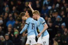 Man City Vs Cardiff City, The Citizens Menang dan Gusur Liverpool