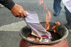 KPU Denpasar Musnahkan 572 Surat Suara Rusak