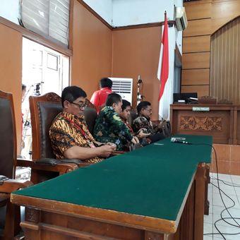 Pihak kuasa hukum Setya Novanto dalam sidang praperadilan Ketua DPR Setya Novanto melawan KPK di PN Jakarta Selatan, Kamis (30/11/2017).