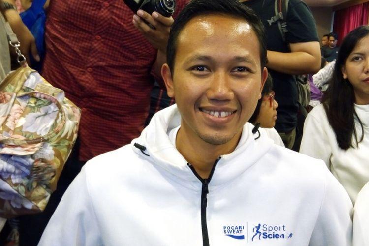 Pelatih atlet tim nasional lari jarak jauh Agung Mulyawan. Profesi pelatih saat ini menjanjikan tak hanya dari gaji tapi juga peluang pasar gaya hidup berolah raga di Indonesia.