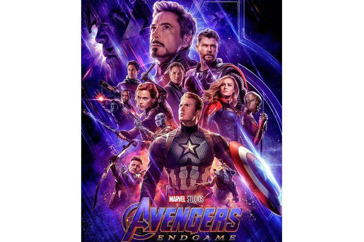 Poster film Avengers: Endgame.