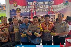 Polisi Tangkap Kurir yang Hendak Selundupkan Sabu di Selangkangan Via Bandara di Palembang