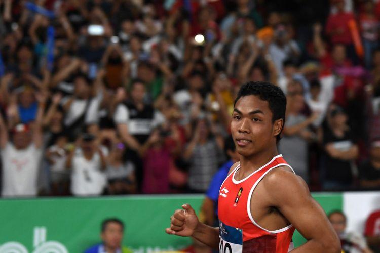 Rekor Asian Games pada Lari 100 Meter Putra, Zohri Finis Ke-7