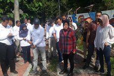 Risma Akan Percantik Bantaran Kali Jagir Surabaya supaya Warga Betah