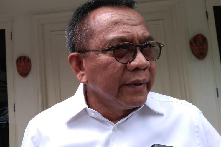 Wakil Ketua DPRD DKI Jakarta Mohamad Taufik di rumah dinas ketua Dewan, Jalan Imam Bonjol, Senin (6/11/2017).