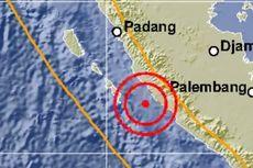 Gempa Magnitudo 5,5 Guncang Bengkulu Utara, Tak Berpotensi Tsunami