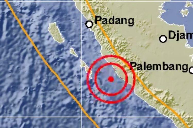 Gempa bermagnitudo 5,5 mengguncang wilayah Bengkulu Utara dan sekitarnya, Sabtu (12/1/2019) sekitar pukul 02.05 WIB.