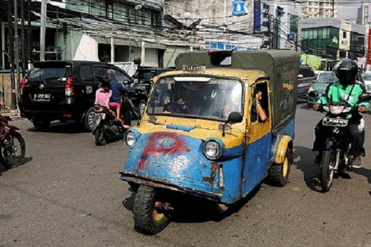 Becak Motor Jakarta Garis Akhir Ikon Transportasi Ibu Kota