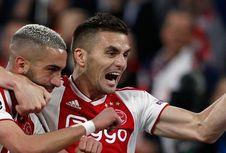 Ajax Vs Tottenham, Dusan Tadic Nilai Timnya Tak Pantas Kalah