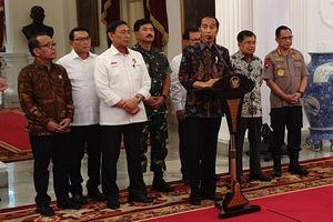 Rajut Persatuan hingga Tindak Tegas Perusuh, Ini Pidato Lengkap Jokowi