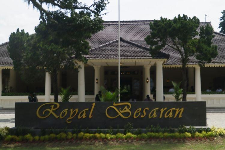 Royal Besaran kini dijadikan resto dan galeri seni bertaraf internasional