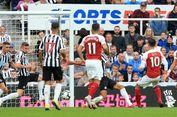 Newcastle Vs Arsenal, Laga Ke-200 dan Gol Penentu Mesut Oezil