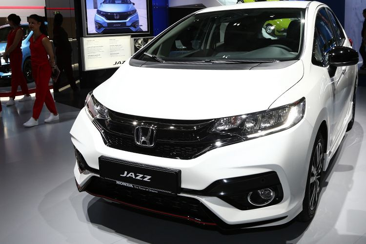 New Honda Jazz di Frankfurt