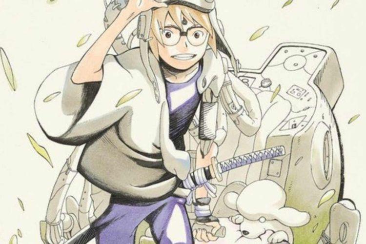 Masashi Kishimoto menerbitkan serial terbarunya berjudul Samurai 8: Hachimaru-Den (The Tale of Hachimaru). Ilustrator dari karya ini adalah Akira Okubo.