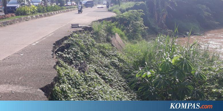 CPDW Perbaikan Tanggul Kali Bekasi di Jalan Cipendawa Terhambat Masalah Aset - Kompas.com