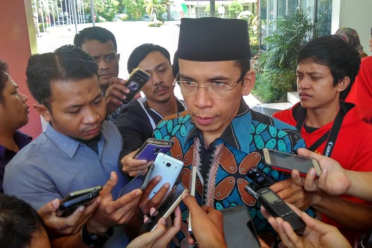 Gubernur NTB, TGH M Zainul Majdi