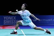 Piala Sudirman 2019, Anthony Ginting Bawa Indonesia Unggul 3-0