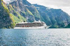 Setelah Dihantam Badai, Kapal Pesiar Viking Sky Berlayar ke Pelabuhan