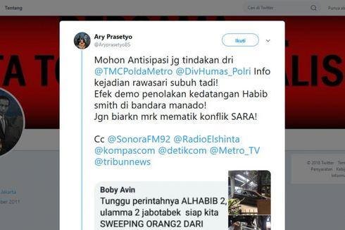 Polisi Beberkan Ciri-ciri Perusak Rumah Makan Manado di Cempaka Putih