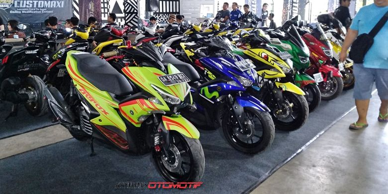 Kontes modifikasi CustoMAXI Banjarmasin di ramaikan 28 peserta