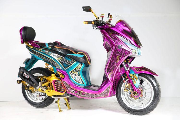 Modifikasi Yamaha Lexi Denpasar