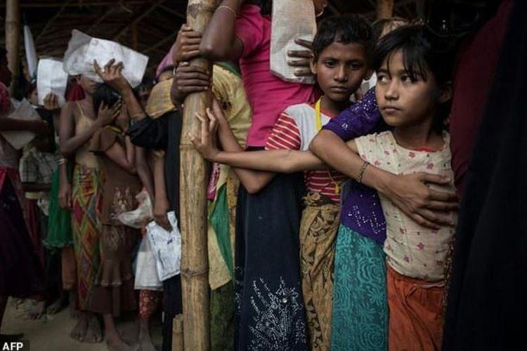 Sekelompok pengungsi Rohingya akan bertemu langsung dengan Paus Fransiskus yang sedang berkunjung ke Bangladesh, Jumat (1/12/2017).