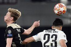 De Jong: Lebih Sulit Melawan Real Madrid Ketimbang Juventus