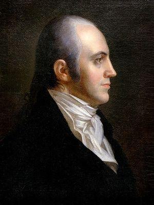 Aaron Burr. (US History)
