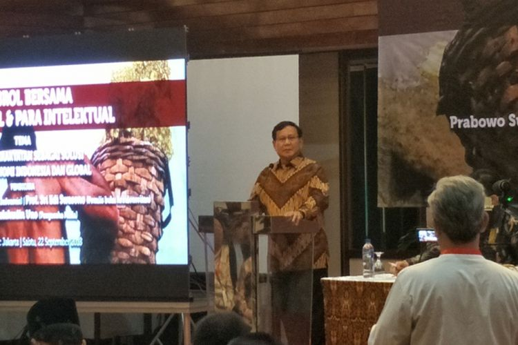 Kelakar Prabowo soal Menteri Susi yang Akan Kena