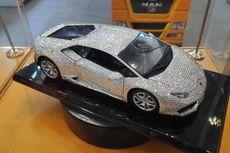 Lamborghini Huracan Berbalut Kristal di GIIAS 2019, Cuma Rp 40 Juta