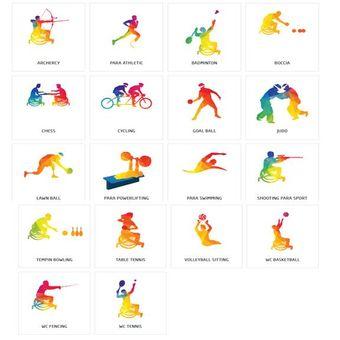 Cabang olahraga yang akan dipertandingkan di Asian Para Games 2018.