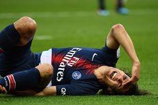 Bawa PSG Menang, Cavani Cedera dan Diragukan Tampil Lawan Man United